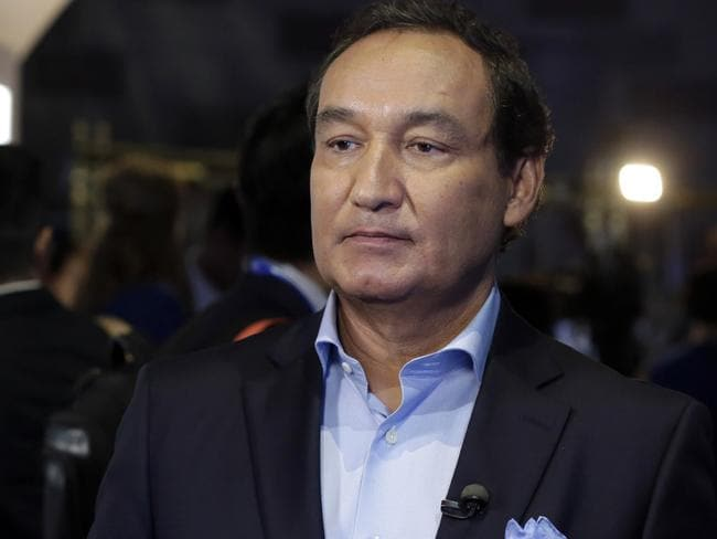 United Airlines CEO Oscar Munoz apologised for the shocking incident amid public outrage. Picture: AP Photo/Richard Drew, File