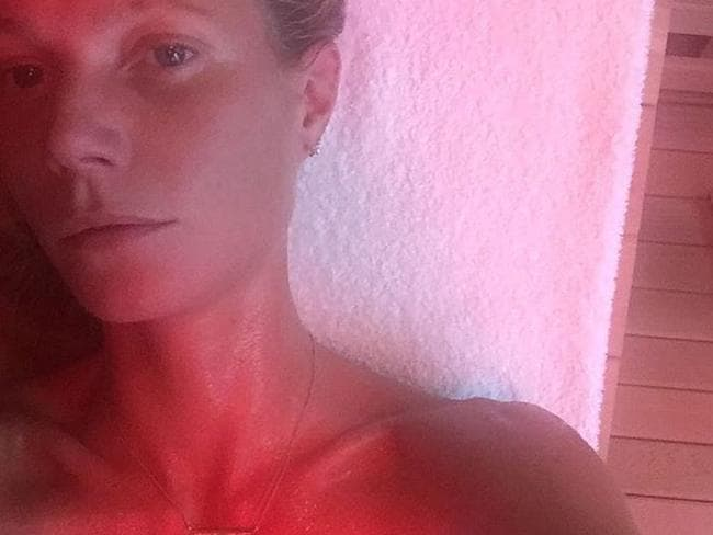 Among many things, Gwyneth Paltrow is known for her love of infrared saunas as a natural healing tool. Picture: Instagram