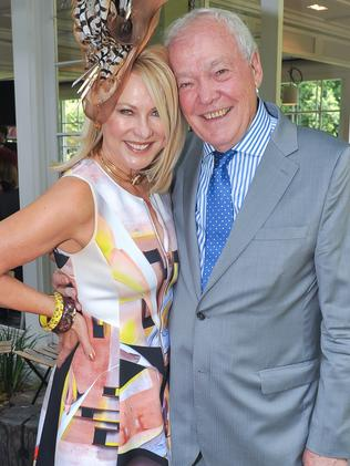 Kerri-Anne & John Kennerley who are well known on the social circuit.