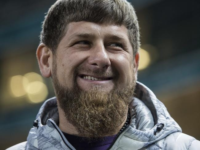 Chechen leader Ramzan Kadyrov. (AP Photo/Denis Tyrin, File)