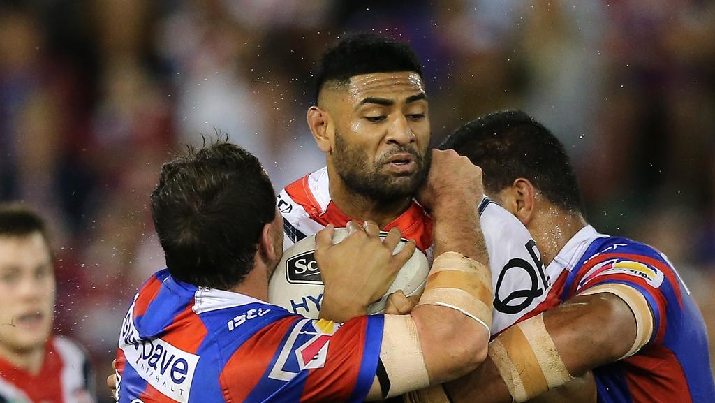 Daniel Tupou is back to his best form at the Roosters.