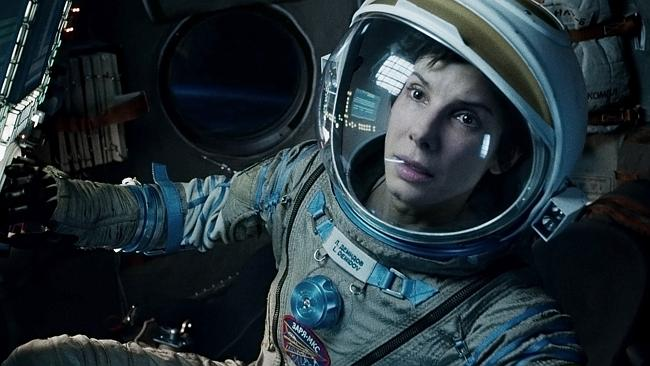 "Sandra Bullock in a scene from ""Gravity."" (AP Photo/Warner Bros Pictures, File)"