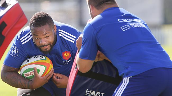 Mathieu Bastareaud is raring to go against the Wallabies in the second Test.