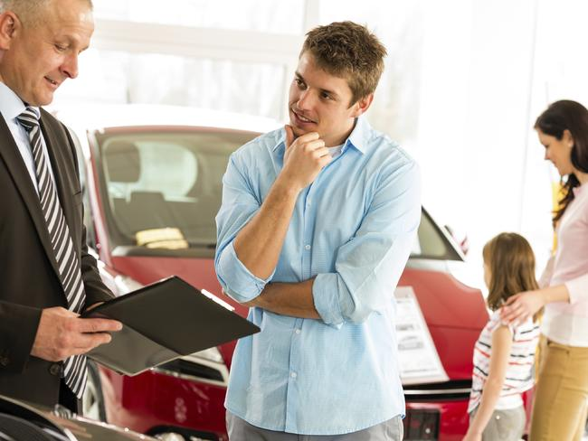 Additional and worthless financial insurance is being burdened on unsuspecting car buyers. Picture: iStock