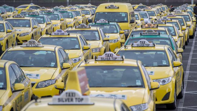 Road rage ... Australia's cab industry has been wagering war against Uber.