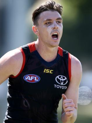 Crow Jake Lever is one of the game's hottest properties. Picture: AAP