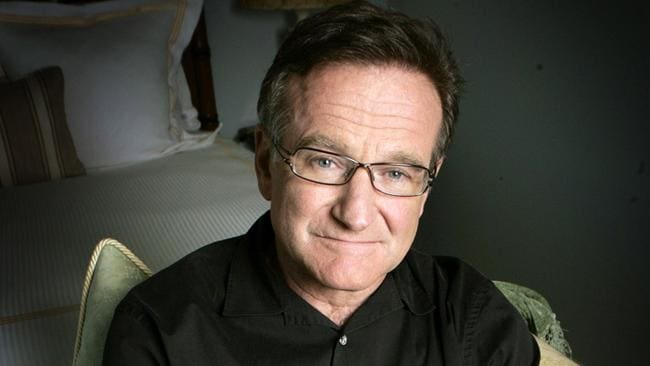 Actor and comedian Robin Williams posing for a photo in Santa Monica, Calif. Picture: AP/Reed Saxon