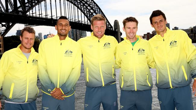 Davis Cup Australia Captain Leyton Hewitt The Right Man To Get Best Of Nick Kyrgios And Bernard Tomic