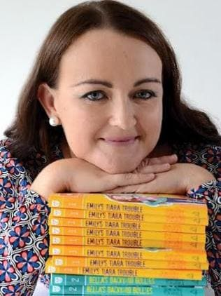 Hit US bookstores ... Samantha Turnbull's first two books Emily's Tiara Trouble and Bella' Backyard Bullies are released in the US this month. Picture: Supplied