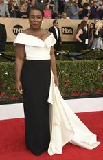 Uzo Aduba attends The 23rd Annual Screen Actors Guild Awards at The Shrine Auditorium on January 29, 2017 in Los Angeles, California. Picture: AO