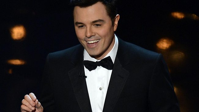 Host Seth MacFarlane opens the show. Picture: Getty Images