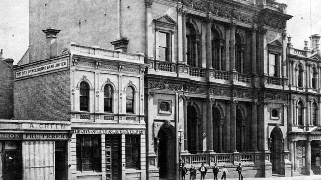 The City of Melbourne Bank Ltd. Picture: Herald Sun Image Library/ARGUS