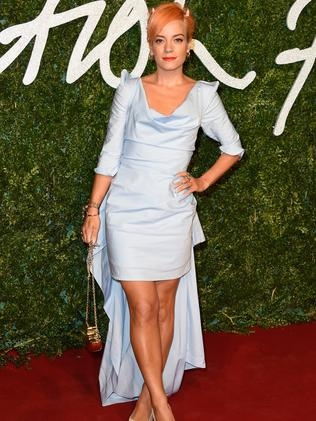 Lily Allen removed all pictures from her Instagram, including those of her and Sam. Picture: Pascal Le Segretain/Getty Images