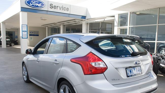 Ford offers a free loan car. Pic: Supplied.