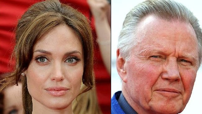 Angelina Jolie does not speak with her father, Jon Voight.