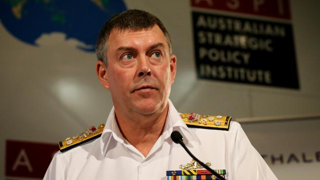 Taking issue seriously ... Vice Chief of the Defence Force, Vice Admiral Ray Griggs.