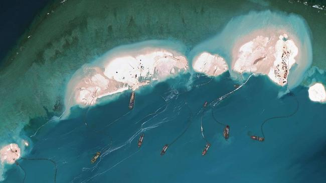 Rapid expansion ... China's moves to significantly boost its military capability is part of the reason for Australia's new strategy, it's said. Picture: AFP