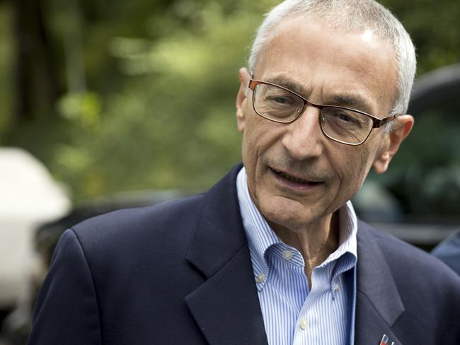 WikiLeaks has posted what it said were thousands of emails from Clinton campaign manager John Podesta. Picture: Andrew Harnik/AP