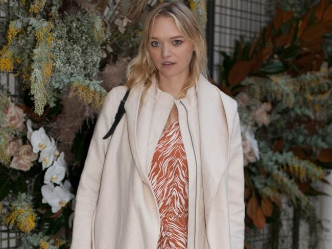 Gemma Ward at a Zulu and Zephyr event.