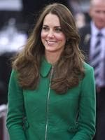 <p>In an Erdem Pre-Fall 2013 bright grass-green, wool-crepe coat Catherine, Duchess of Cambridge pays a visit to the Avantidrome on April 12, 2014 in Hamilton, New Zealand. Picture: Getty</p>