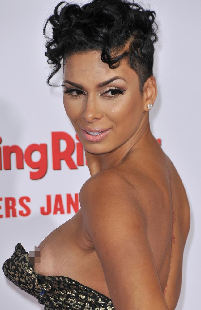 Going Basketball Wives Star Laura Govan Has A Wardrobe Malfunction On