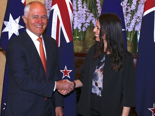 Malcolm Turnbull rebuffed Jacinda Ardern's offer to resettle 150 refugees. Picture: AAP