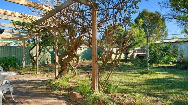 POPULAR MESS: The badly maintained garden at 56 Noble Street, Five Dock did little to perturb one Sydney family who paid $1.82 million, $380,000 over the reserve price.