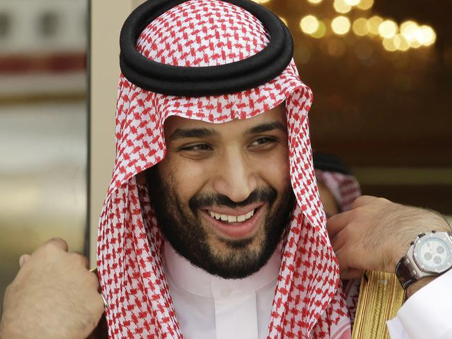 Prince Mohammed bin Salman. Picture: Hassan Ammar
