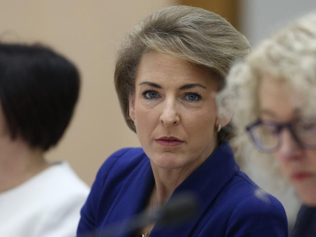 Michaelia Cash at the hearing. Picture Gary Ramage