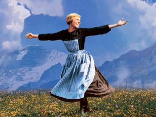 Julie Andrews in The Sound of Music PERSONAL OZ Picture: Supplied