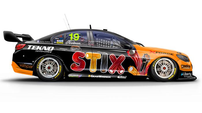 Will Davison's No. 19 Darrell Lea STIX Holden Commodore.