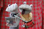 <p><em>Scottish Falsetto Sock Puppet Theatre</em> performs nightly in the Adelaide Fringe Festival Garden of Unearthly Delights until March 18.</p>