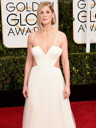 Belle of the ball ... Gone Girl star Rosamund Pike. Picture: Getty Images