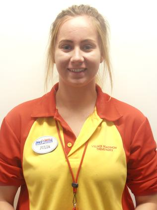 JULIA CHRISTENSEN, Operations, Wet'n'Wild, Gold Coast