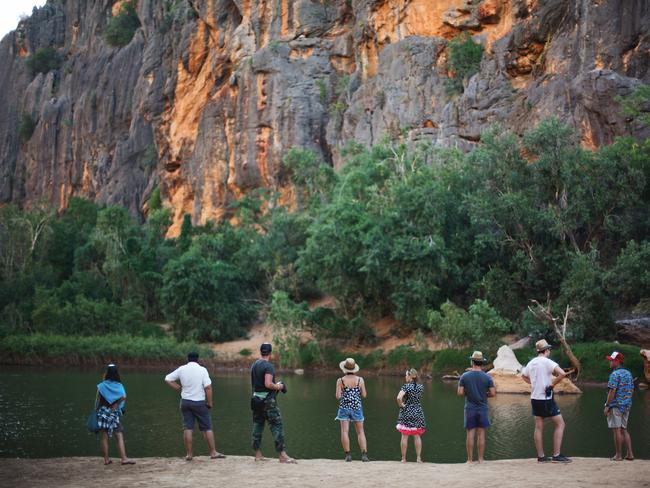 Windjana Gorge, the Kimberley. Picture: Jarrad Seng