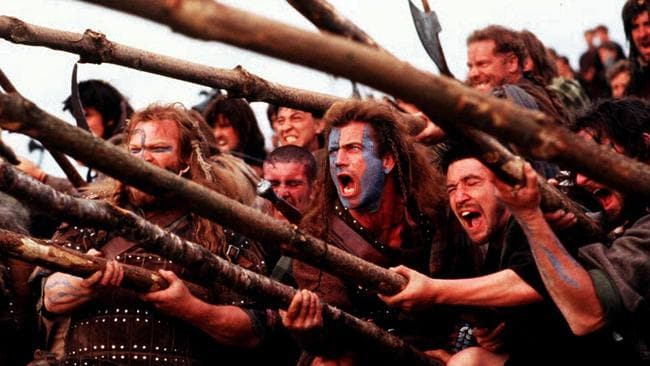Braveheart was nominated for 10 Academy Awards.