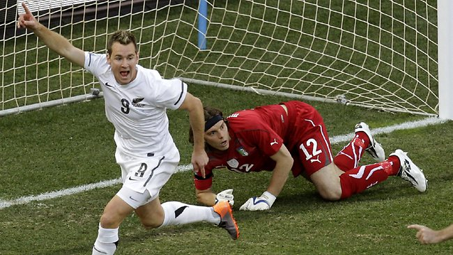 Shane Smeltz goal World Cup
