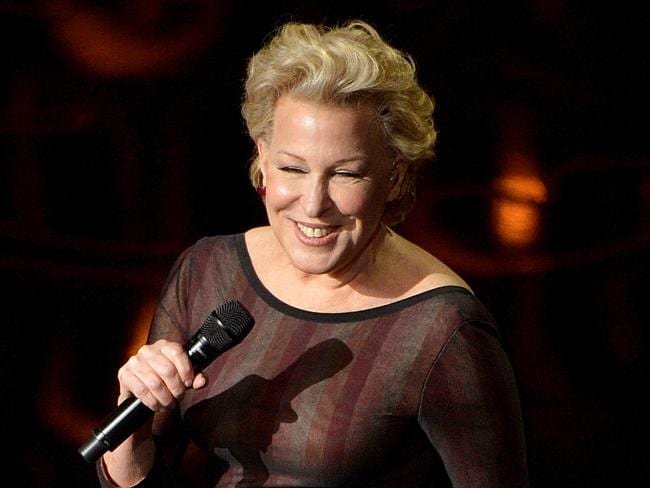 Still got it! Bette Midler looked fantastic on stage at the Oscars.