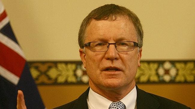 Former police minister Paul Holloway was appointed for the review.