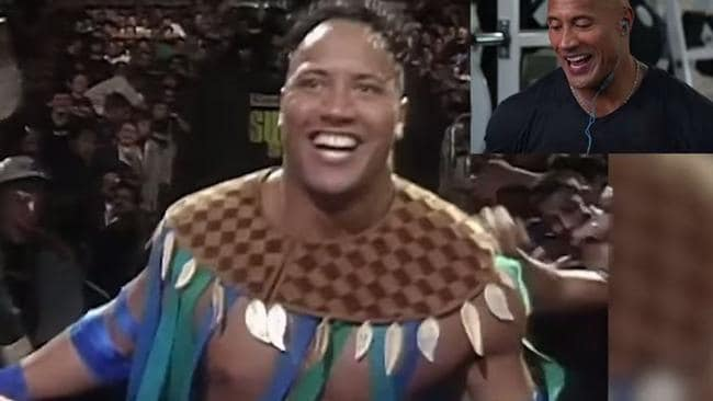 The Rock WWE debut: Dwayne Johnson commentates first match