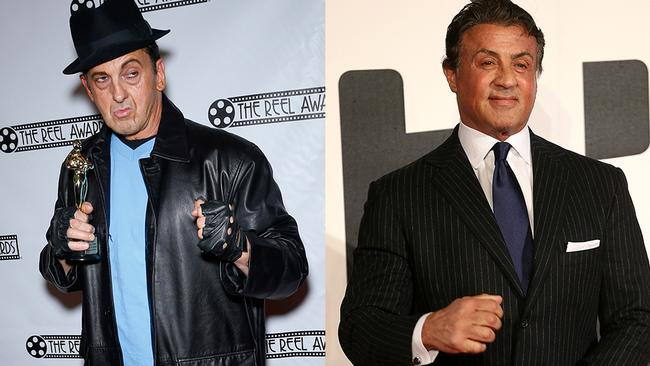 Sylvester Stallone might challenge this boxing-wannabe to a punch up in the ring after seeing this outfit.