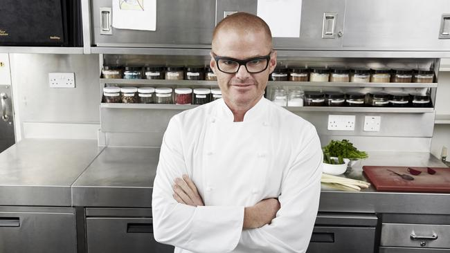 Unimpressed ... MasterChef Australia's guest judge Heston Blumenthal did not rate Amy Shields' effort in his 'culinary deception' challenge.