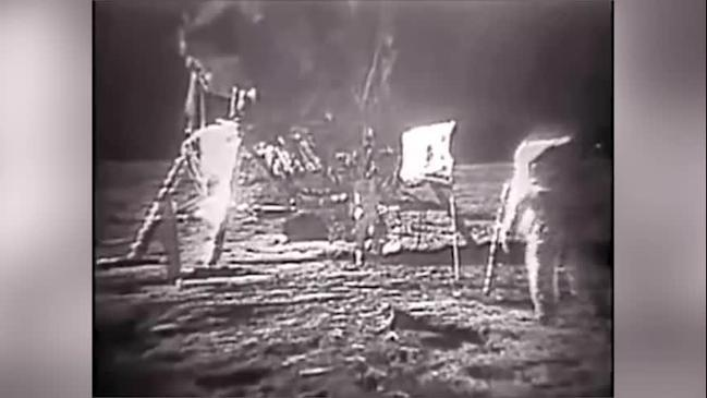 RUSH HOUR: Conspiracy video 'proves' moon landings were fake