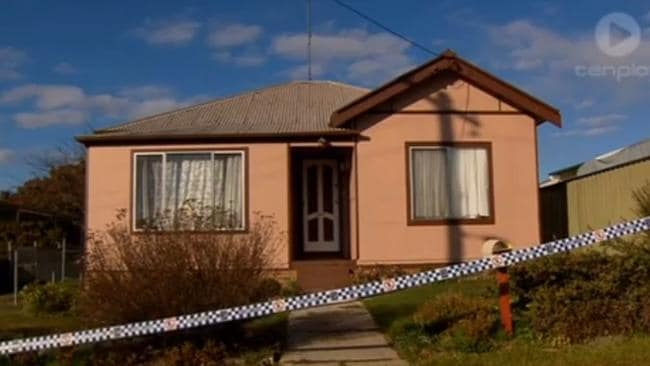 The house where the mother LN and her de facto took Joseph and tortured him. Picture: Channel Ten.