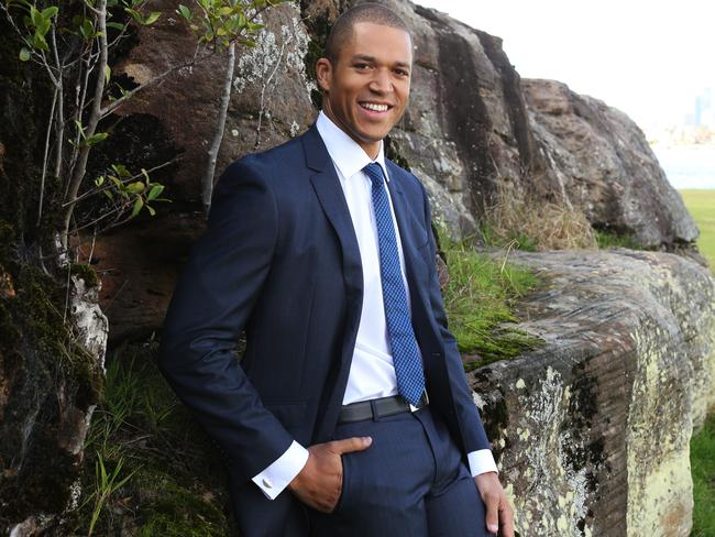 Not so smooth ... Blake Garvey is the latest contestant on The Bachelor Australia.
