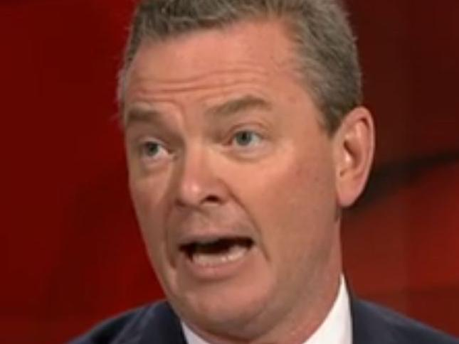 Christopher Pyne on Q&A on Monday.