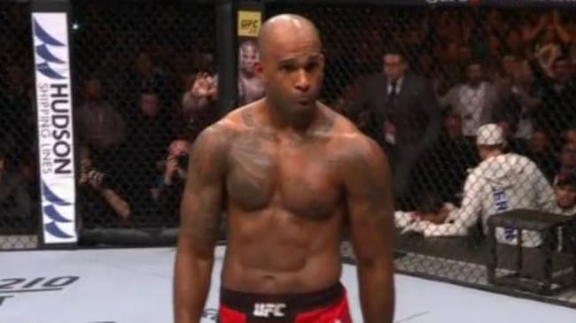 Manuwa knocks out Anderson with one punch.