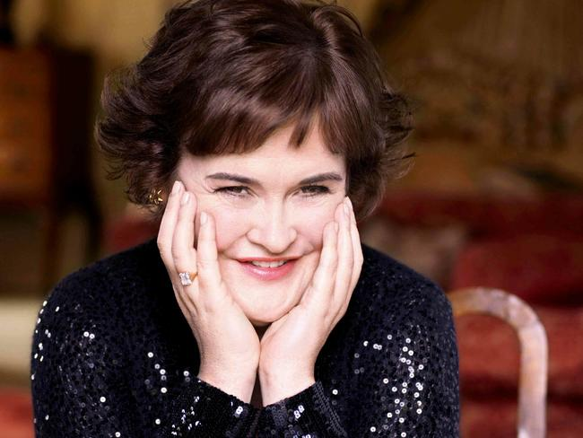 Makeover ... Susan Boyle as she appeared in Harper's Bazaar. Picture: Supplied.