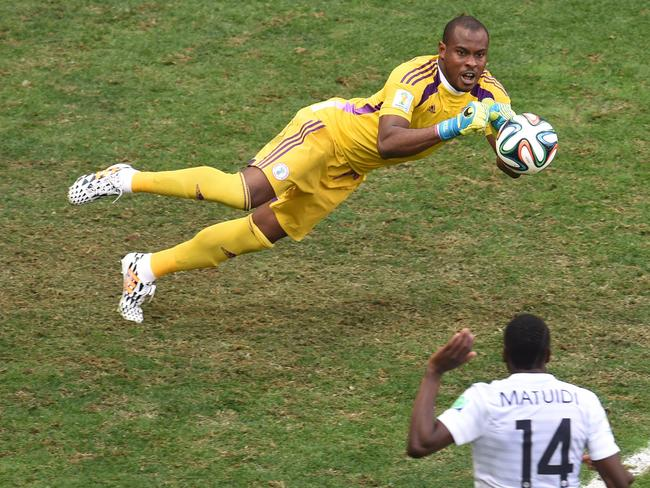 Nigeria's goalkeeper Vincent Enyeama was brilliant, but one mistake cost his side dearly.