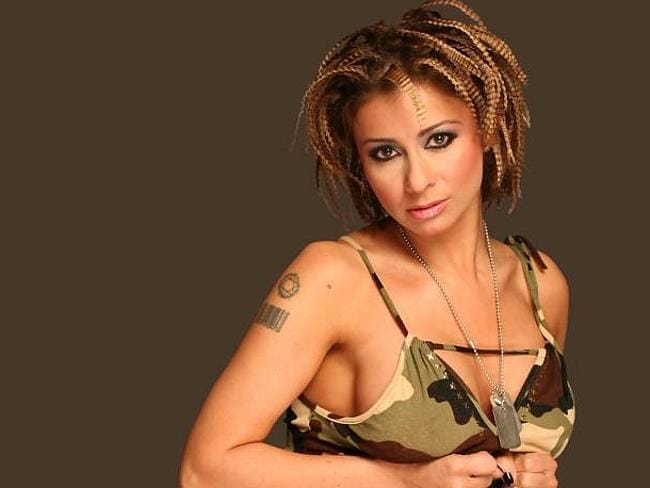 Upset fans with her lack of attire ... Ana Maria Prodan, wife of the new coach of Saudi A